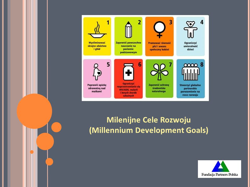 Milenijne Cele Rozwoju (Millennium Development Goals)
