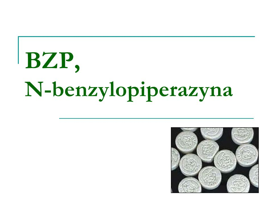 BZP, N-benzylopiperazyna
