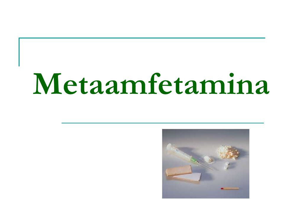 Metaamfetamina