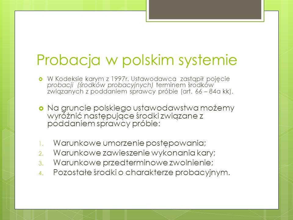 Probacja w polskim systemie