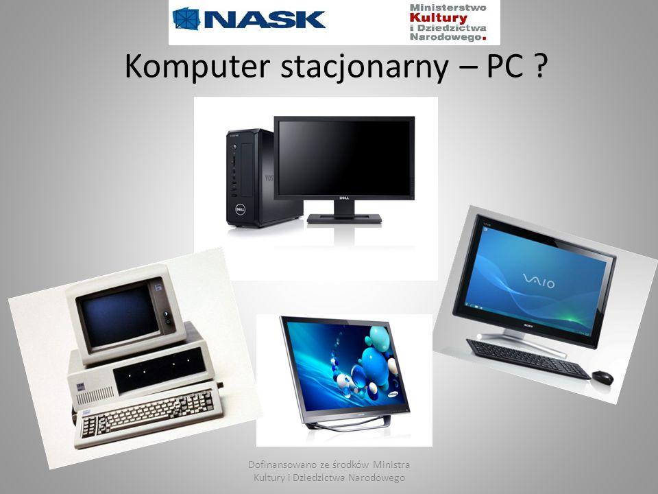 Komputer stacjonarny – PC