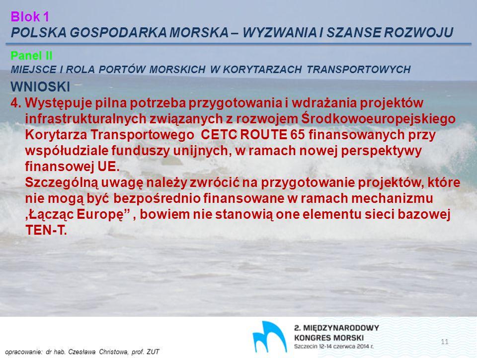 POLSKA GOSPODARKA MORSKA – WYZWANIA I SZANSE ROZWOJU