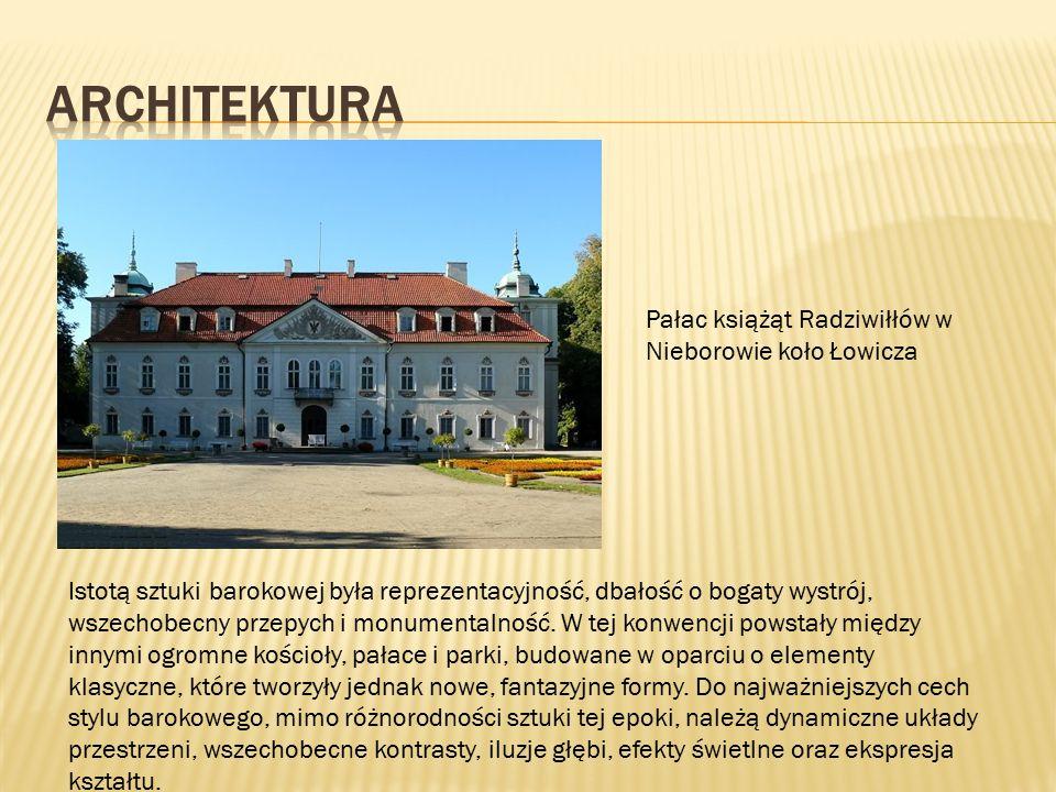 ARCHITEKTURA Pałac książąt Radziwiłłów w Nieborowie koło Łowicza