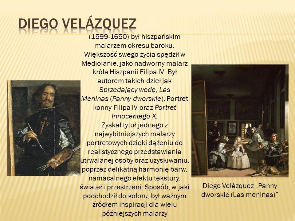 "Diego Velázquez ""Panny dworskie (Las meninas)"