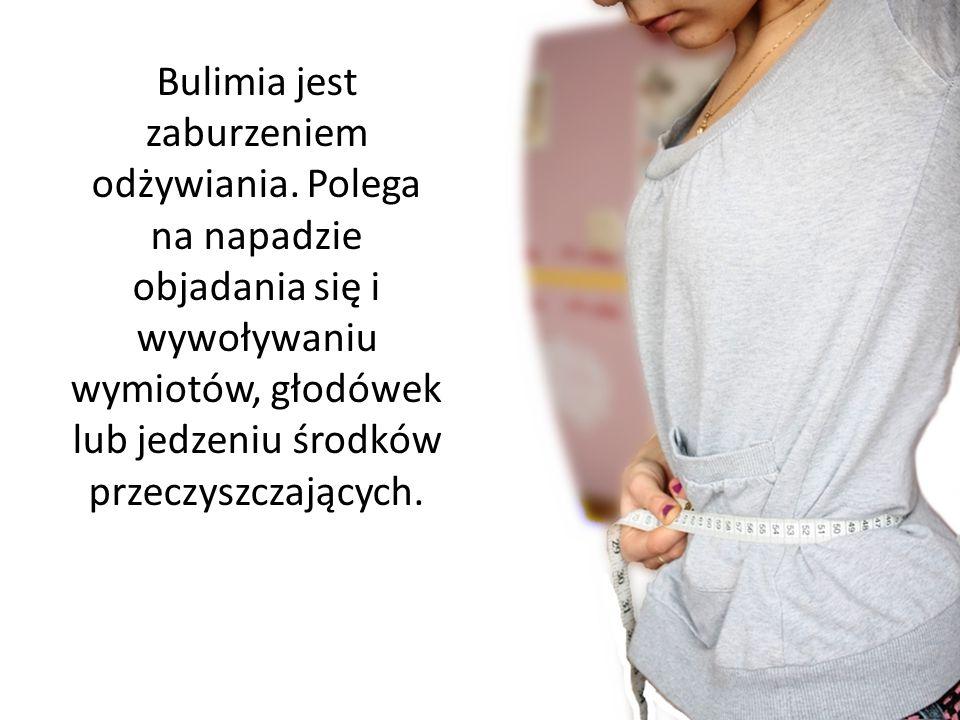 Bulimia jest zaburzeniem odżywiania