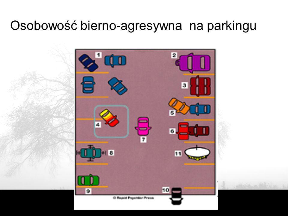 Osobowość bierno-agresywna na parkingu