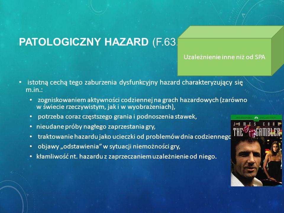 Patologiczny hazard (F.63.0)