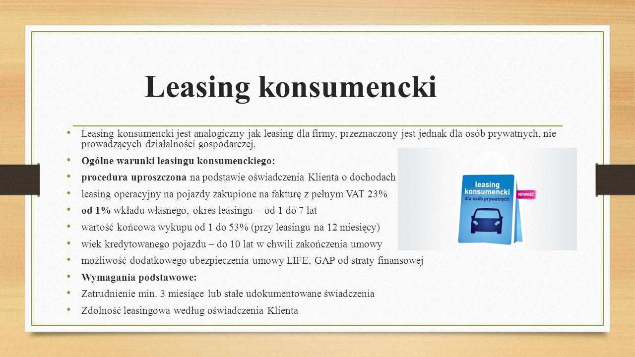 Leasing konsumencki