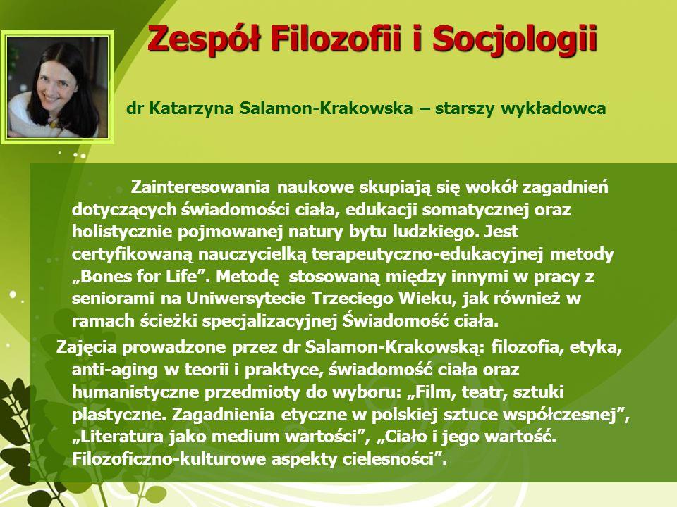 Zespół Filozofii i Socjologii