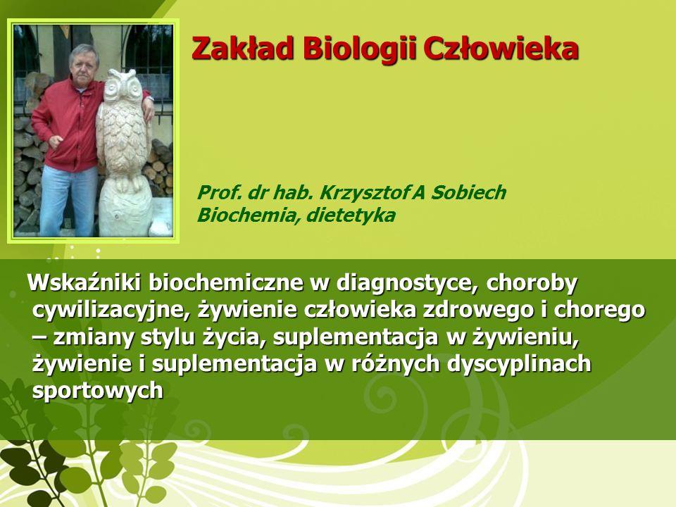 Zakład Biologii Człowieka