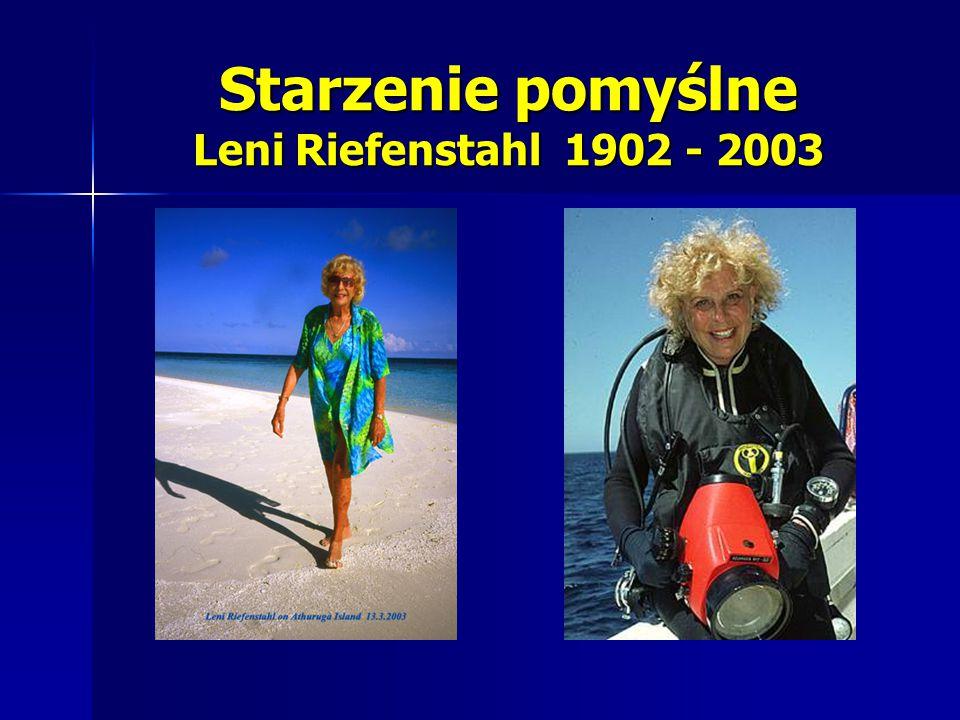 Starzenie pomyślne Leni Riefenstahl 1902 - 2003