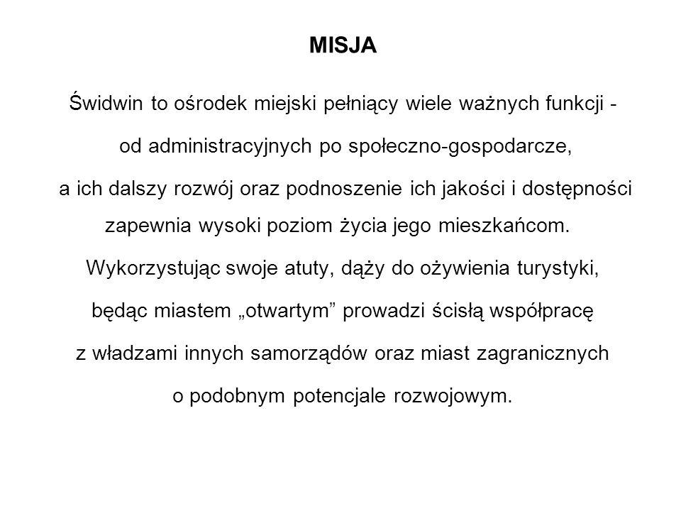 MISJA Świdwin to ośrodek miejski pełniący wiele ważnych funkcji -