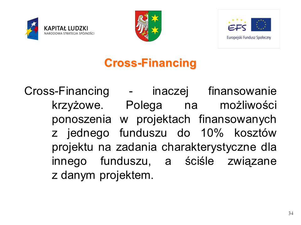 Cross-Financing