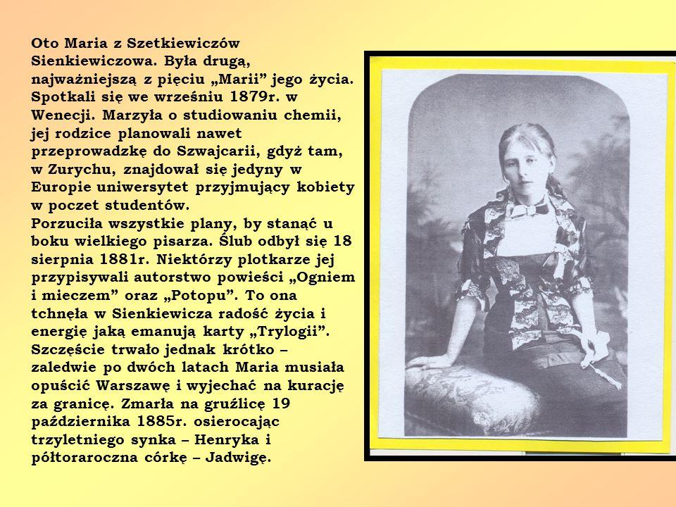 Oto Maria z Szetkiewiczów Sienkiewiczowa