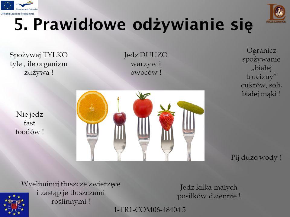 5. Prawidłowe odżywianie się