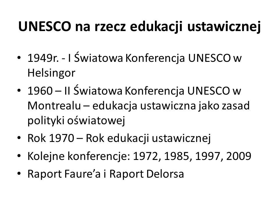 UNESCO na rzecz edukacji ustawicznej