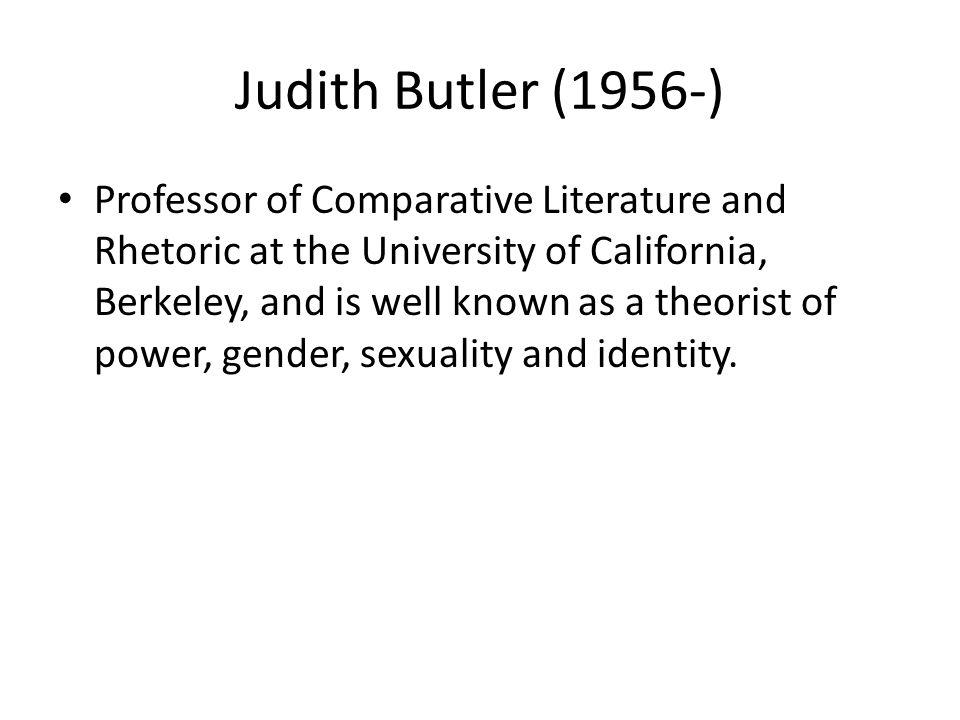 Judith Butler (1956-)