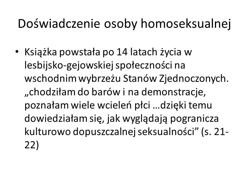 Doświadczenie osoby homoseksualnej