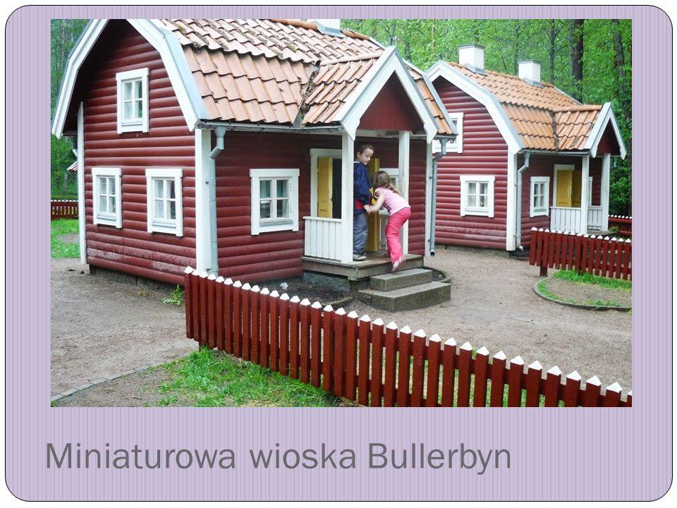 Miniaturowa wioska Bullerbyn