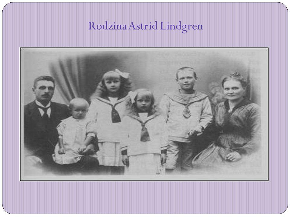 Rodzina Astrid Lindgren