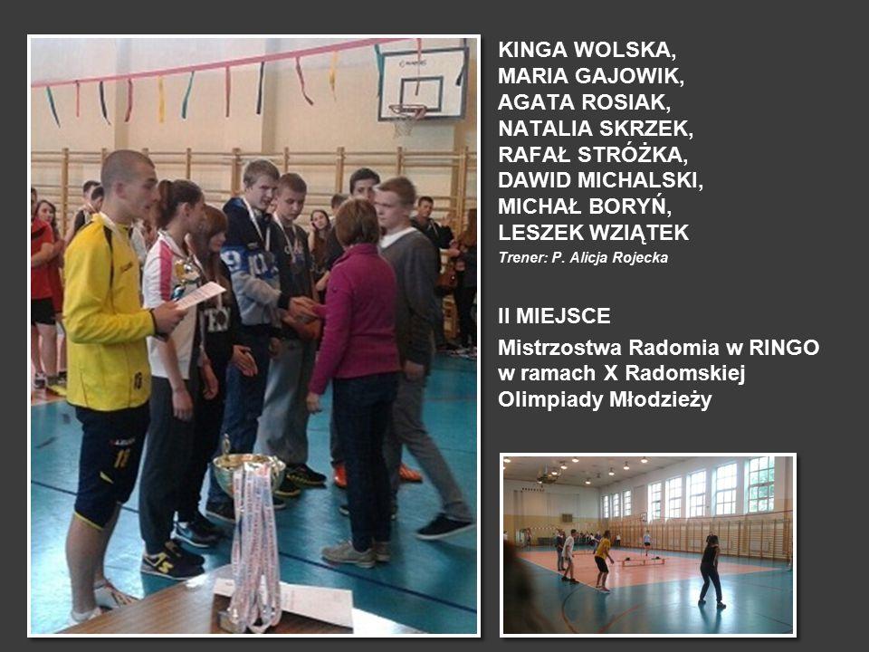 Mistrzostwa Radomia w RINGO w ramach X Radomskiej Olimpiady Młodzieży