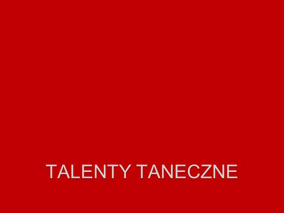 talenty taneczne
