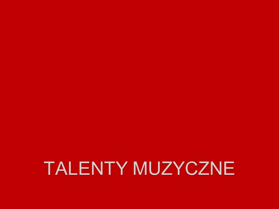 talenty muzyczne