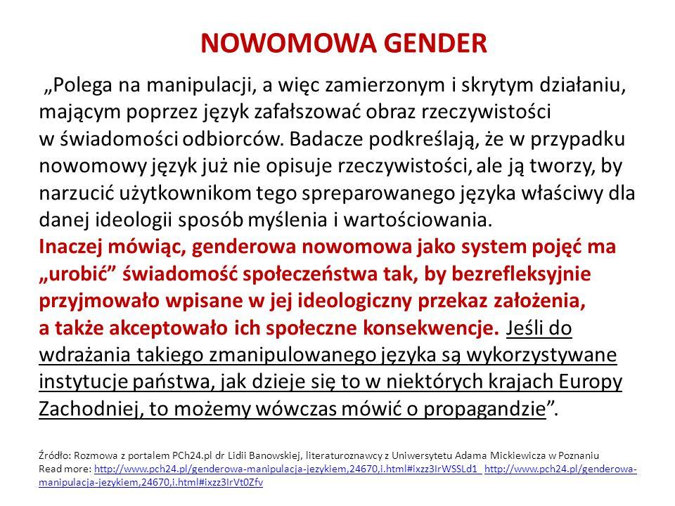 NOWOMOWA GENDER