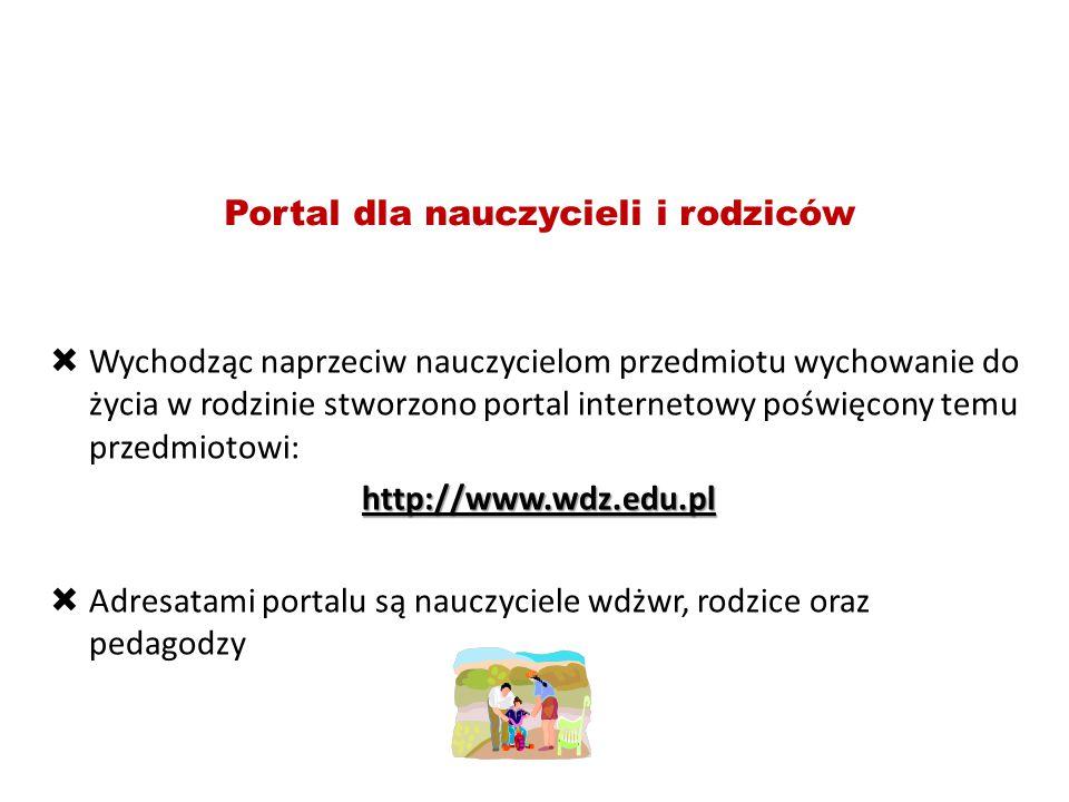 Portal dla nauczycieli i rodziców