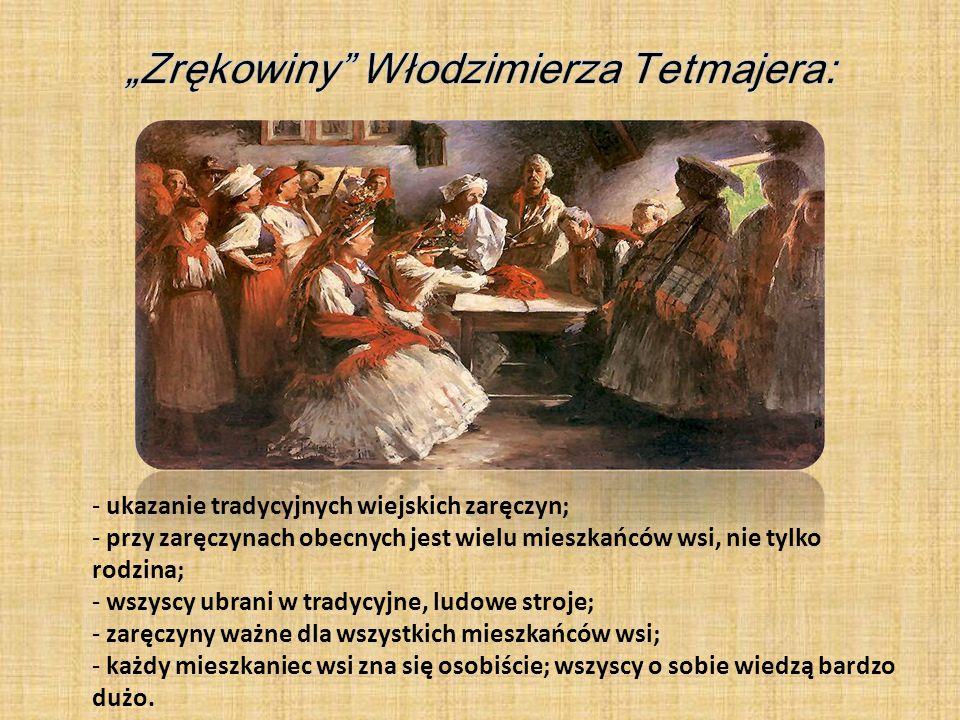 """""""Zrękowiny Włodzimierza Tetmajera:"""