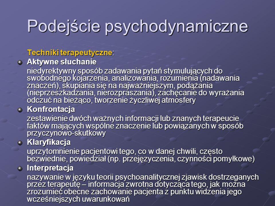 Podejście psychodynamiczne