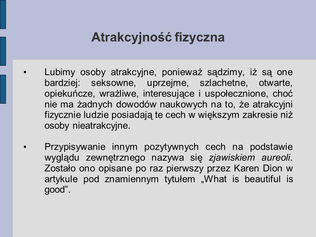 Atrakcyjność fizyczna
