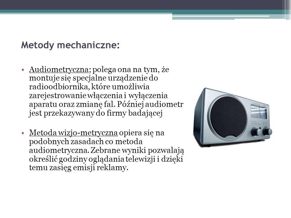 Metody mechaniczne: