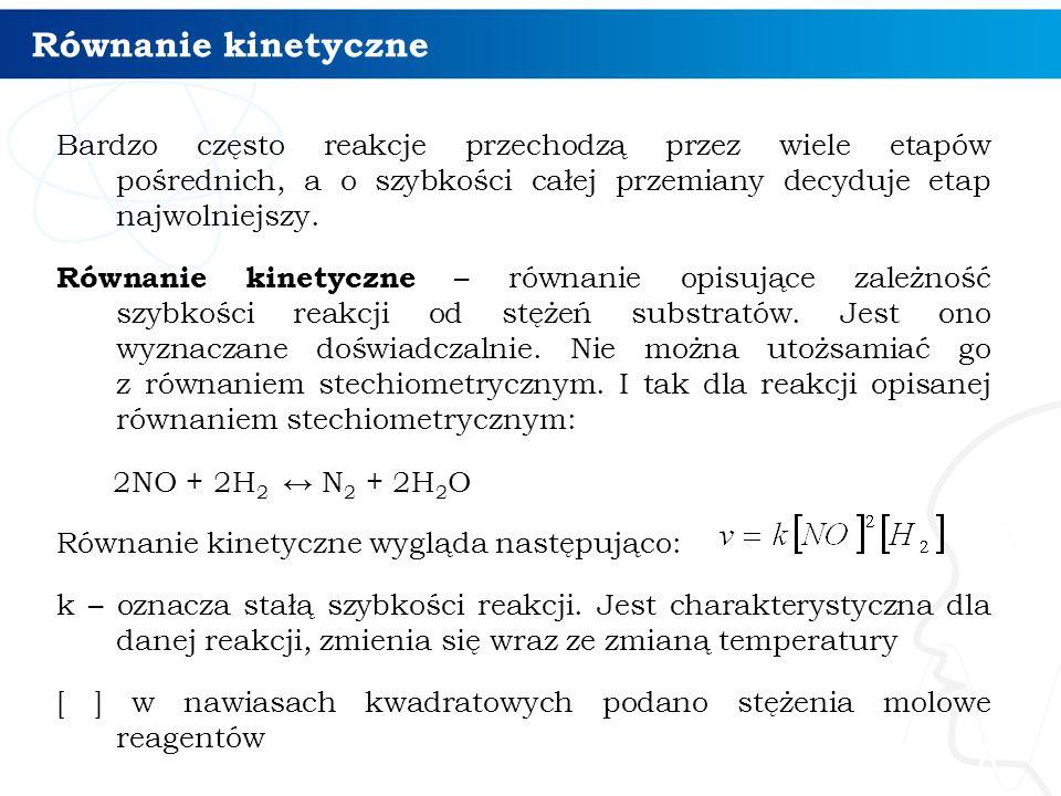 Równanie kinetyczne