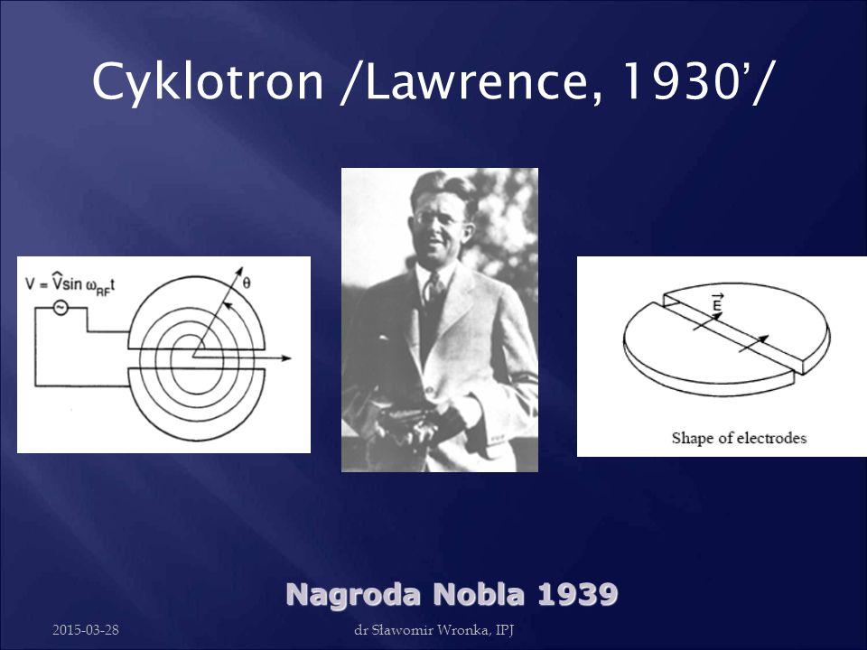 Cyklotron /Lawrence, 1930'/