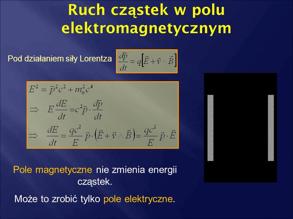 Ruch cząstek w polu elektromagnetycznym
