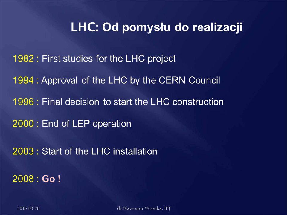 LHC: Od pomysłu do realizacji
