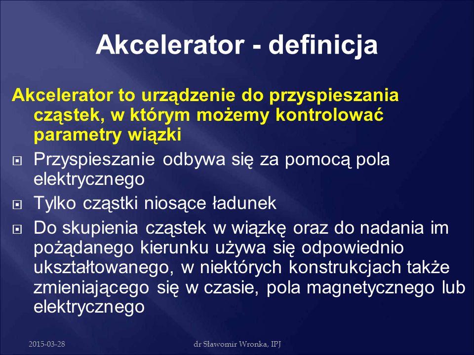 Akcelerator - definicja