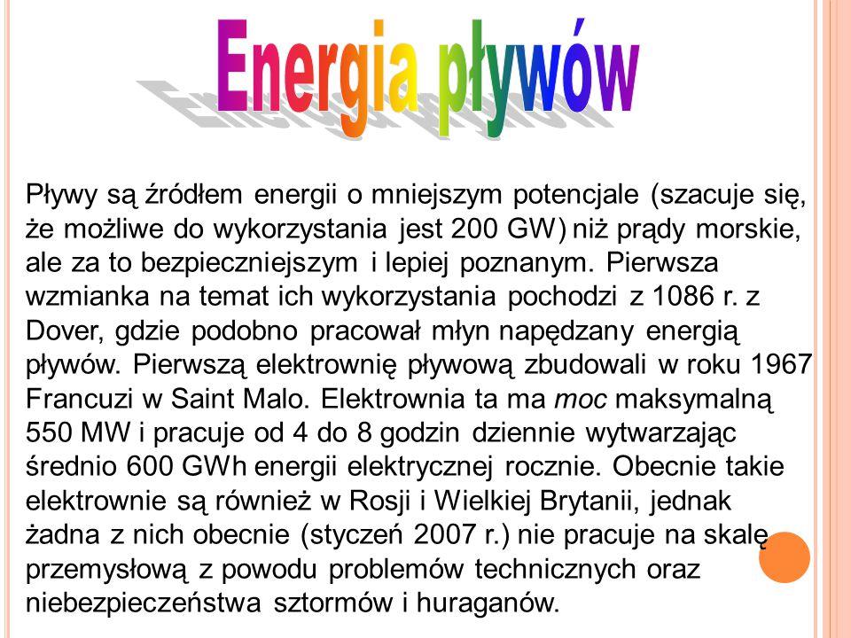 Energia pływów