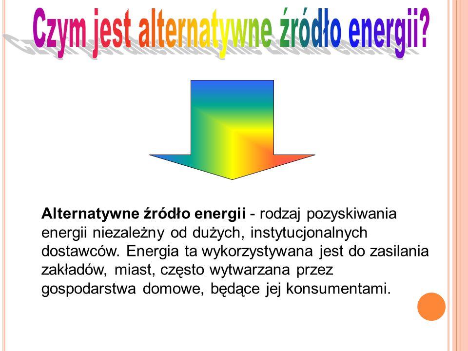 Czym jest alternatywne źródło energii
