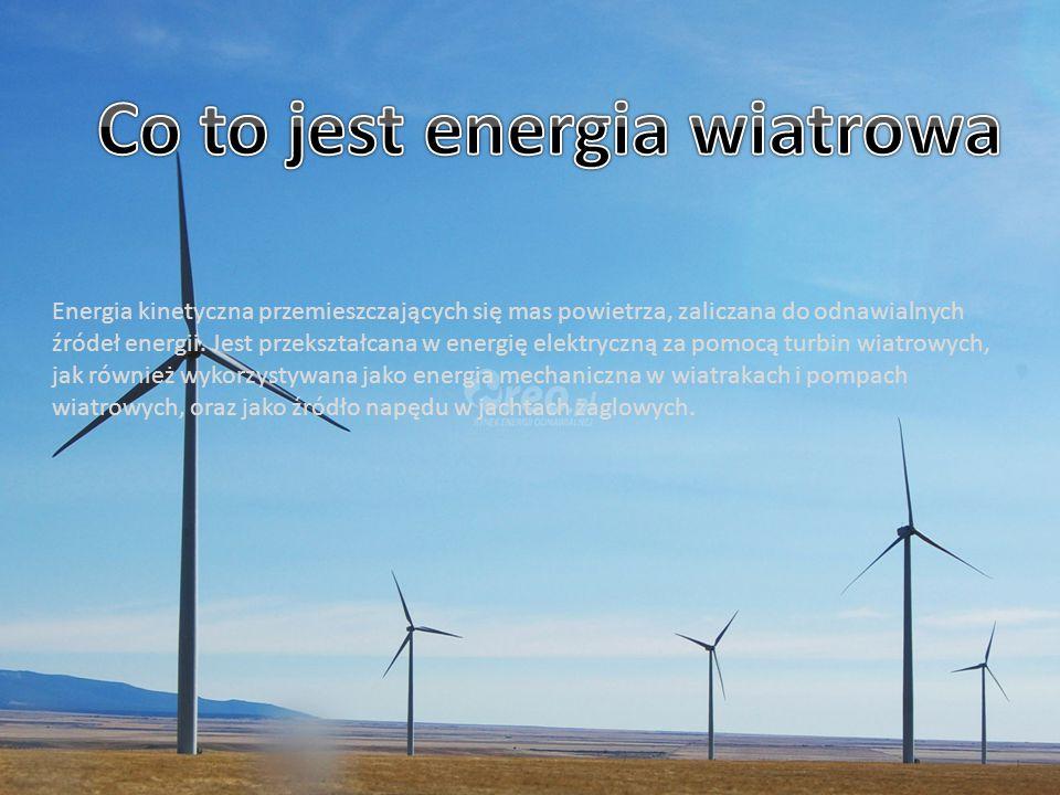 Co to jest energia wiatrowa