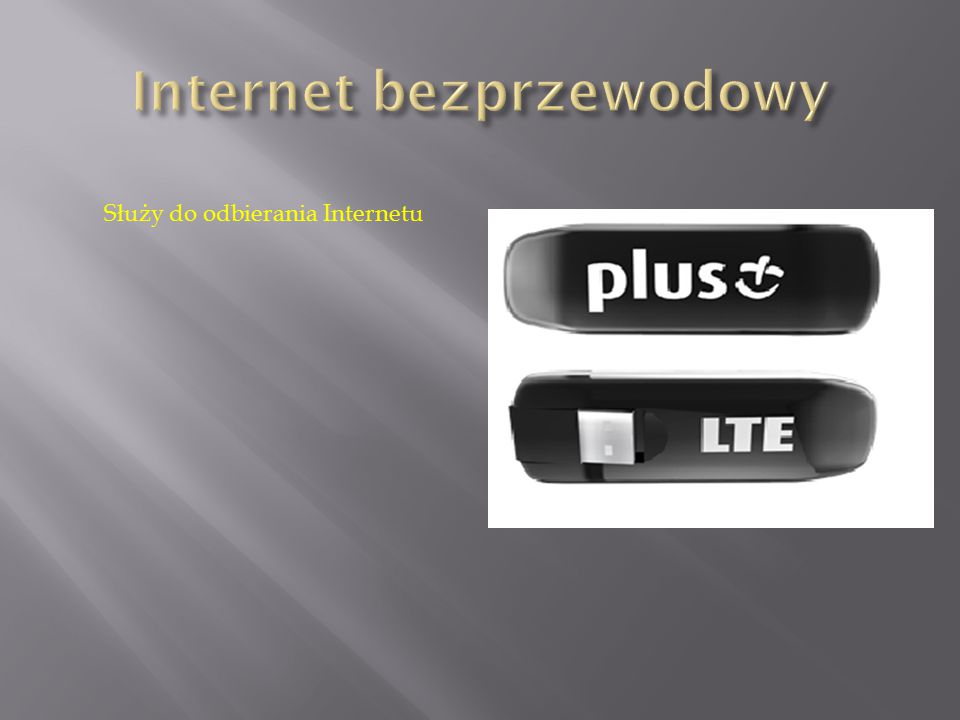 Internet bezprzewodowy
