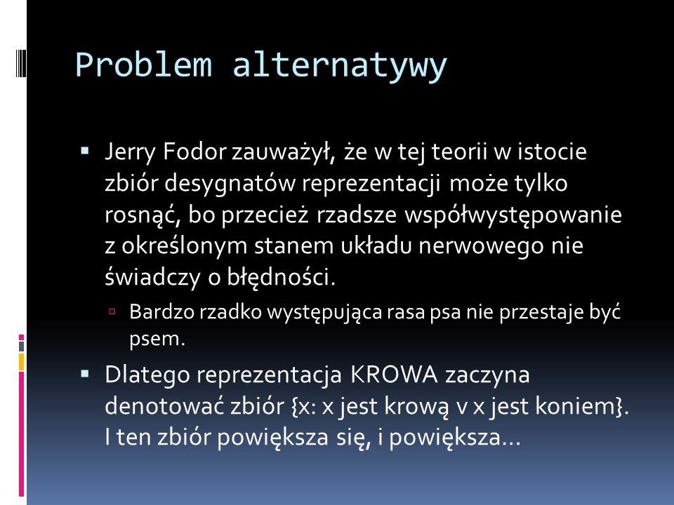 Problem alternatywy
