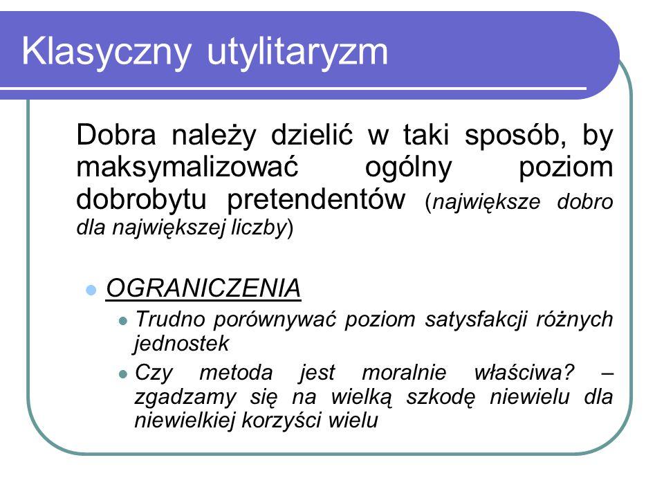 Klasyczny utylitaryzm