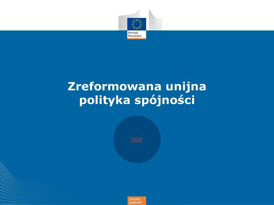 Zreformowana unijna polityka spójności