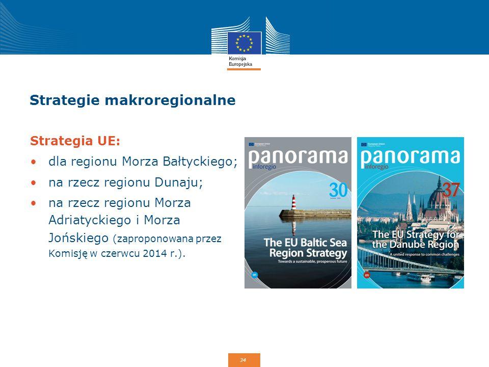 Strategie makroregionalne