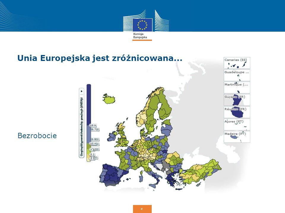 Unia Europejska jest zróżnicowana...