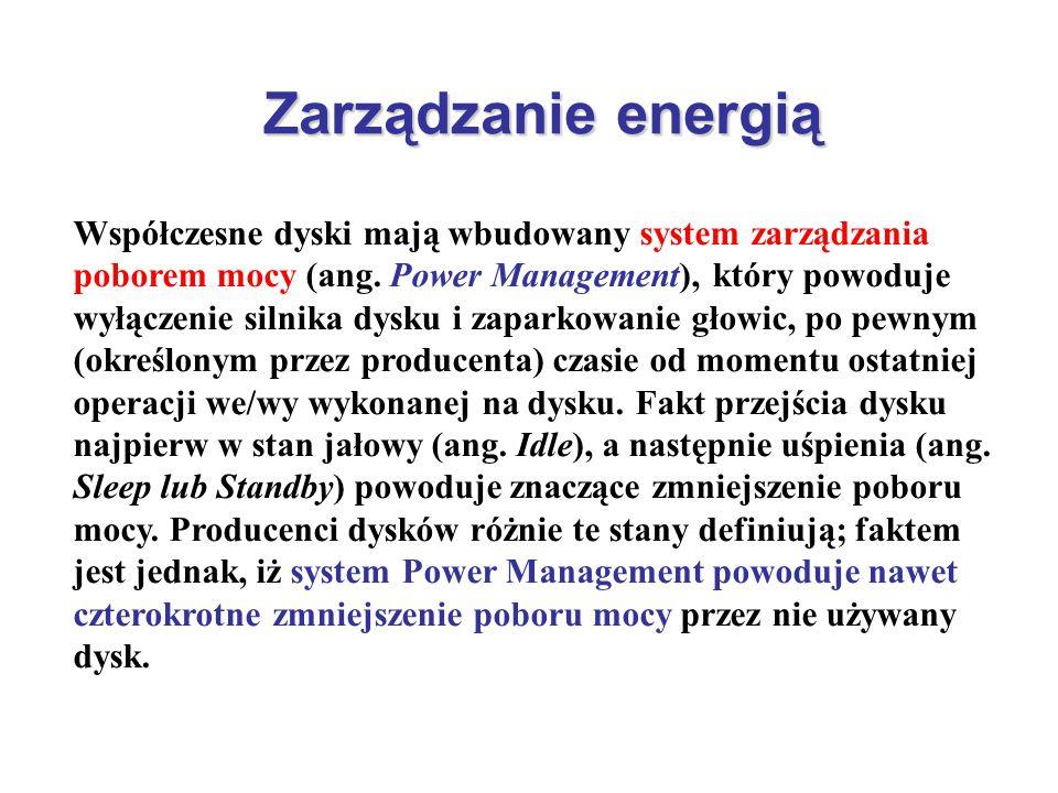 Zarządzanie energią