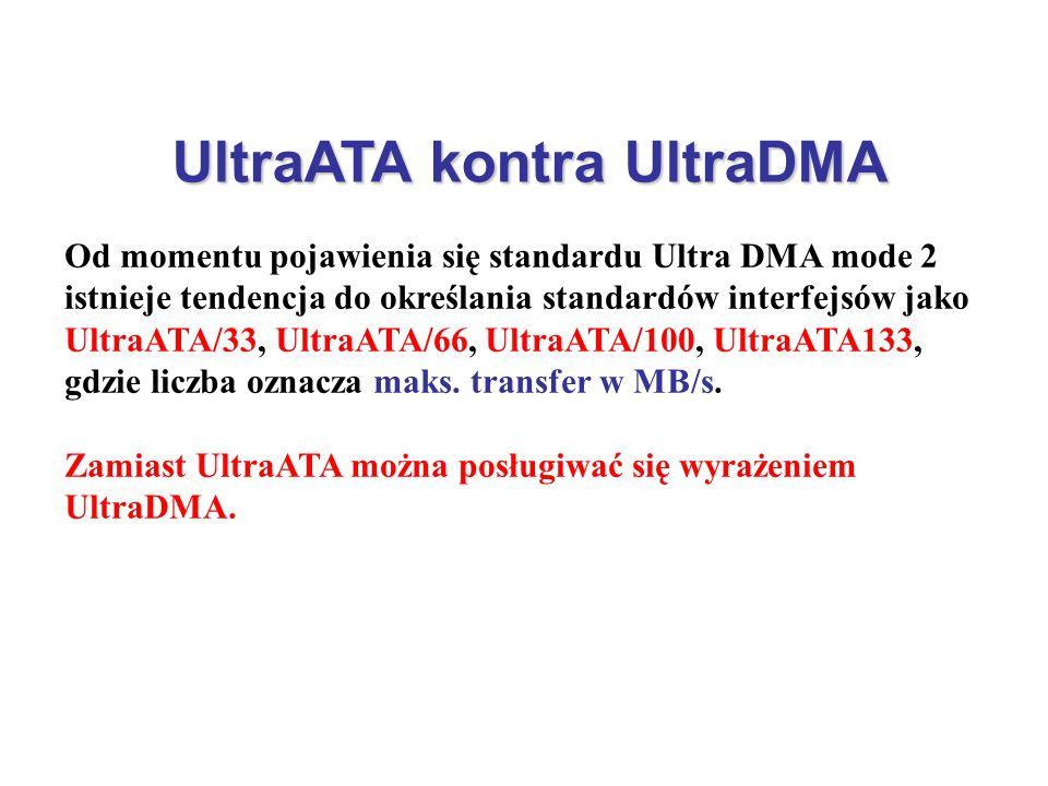 UltraATA kontra UltraDMA