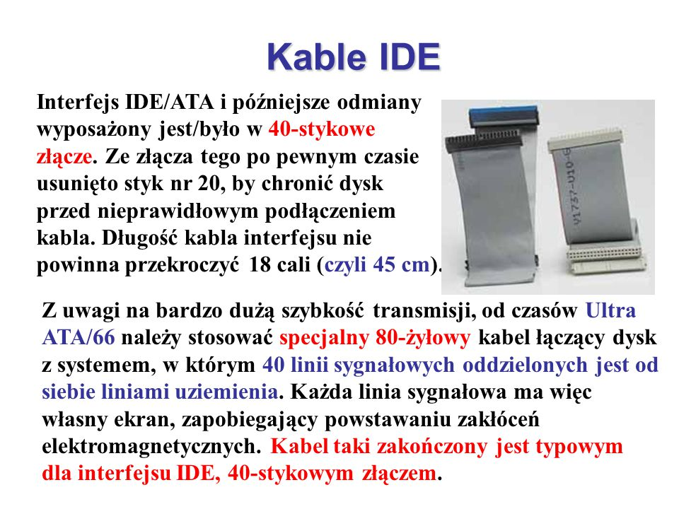 Kable IDE
